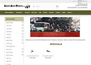 Army Jeep Parts, Inc.