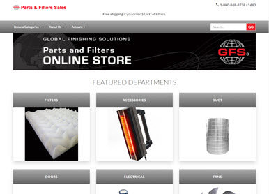 GSF Parts & Filers Sales